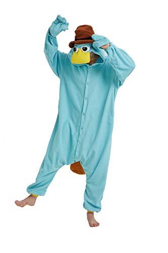 Onesie - Pijama unisex para adultos, diseo de tigre de len y zorro, talla S