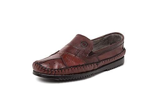 Sapato Casual Mocassim Sapatilha Masculino Confortável Café Marrom 39