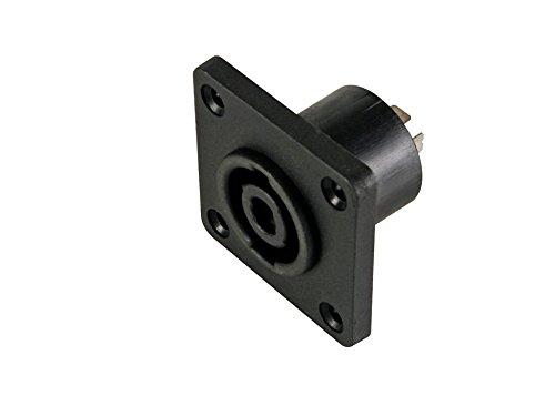 Velleman CAS003 Professional Square Female luidspreker Aansluiting voor chassis