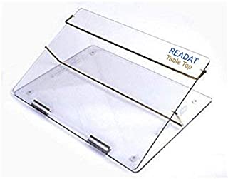 READAT (Make in India) Acrylic Table top (PS Sheet) Elevator Writing Desk Standard Size 21 * 15 INCHES Premium Quality 7mm...