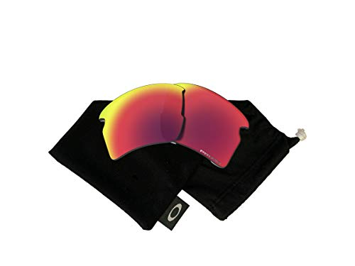 Oakley Original Flak 2.0 XL OO9188 PRIZM Road REPLACEMENT Lenses +BUNDLE with Oakley Microfiber Cloth Bag, 59