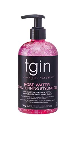 Rose Water Defining Styling Gel for Curls - Kinks - Waves