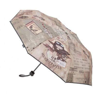 Anekke | Paraguas manual estilo aviador | Accesorios y Complementos para Mujer