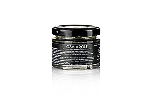 Caviaroli® Kürbiskernölkaviar, mit Kürbiskernöl aus der Steiermark, gelb, 50g