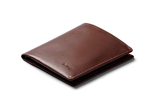 Bellroy Note Sleeve, slim leather wallet, RFID editions available (Max. 11 cards, bills and coins) - Cocoa - RFID