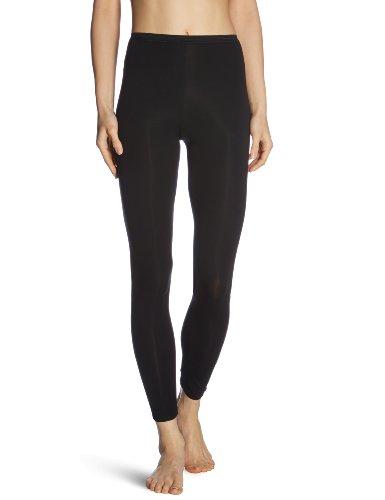Schiesser Damen Hose Lang Unterhose, Schwarz (000-schwarz), 42