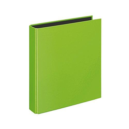 Veloflex 1153341 Ringbuch VELOCOLOR, Ringordner, Ordner, DIN A5, 4-Ring-Mechanik, 200 x 230 x 45, Karton, grün