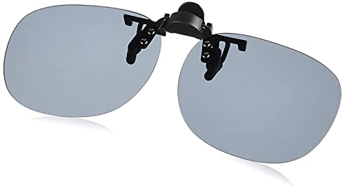 SWANS(スワンズ) 日本製 偏光 サングラス メガネにつける クリップオン 跳ね上げタイプ SCP-21_SMK SMK 偏光スモーク Free Size