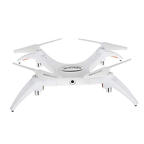 HHtoy 2.4G RC Drone Professionale con Fotocamera 2.0MP WiFi FPV Braccio Staccabile Altitude Hold Telecomando elicotteri Quadcopter UAV for Bambini e Adulti Regalo di Natale di Compleanno