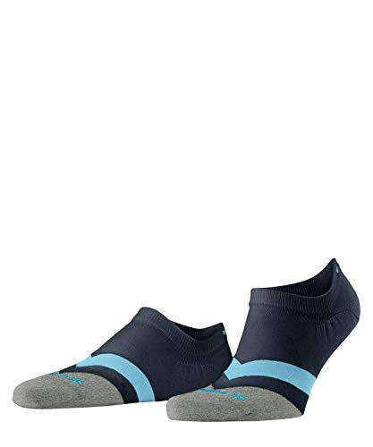Burlington Herren Argyle Racing Sneakersocken, blau (marine 6120), 40-46