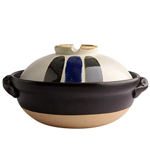 Moderne Premier Auflaufformen Schüssel mit Deckel Gesundheit Haushaltswaren,Keramik Langsamer Eintopf Temperaturbeständigkeit Auflauftopf Tontopf Kochen Suppe Langsamer Eintopf,Mehrfarbig-1.