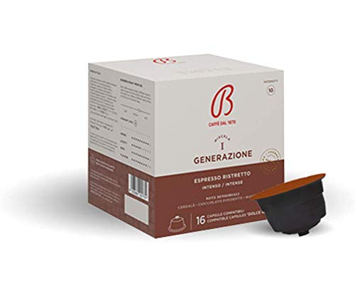 96 cápsulas expreso compatibles Dolce Gusto – 96 cápsulas expresso Caffè compatibles Dolce Gusto – máquina Lavazza Dolce Gusto Kit 96 cápsulas compatibles expresso – Caffè Barbera