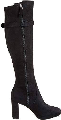 Guess ABALENE2/STIVALE (Boot)/Fabric, Botas Altas para Mujer, Grigio Grey Grey, 36 EU