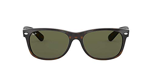 Ray-Ban New Wayfarer, Gafas de Sol Unisex adulto, Multicolor (Tortoise 902L), 55 mm