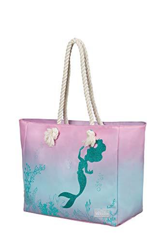 American Tourister Modern Glow Disney Borse a tracolla, Taglia Unica, Multicolore (The Little Mermaid)