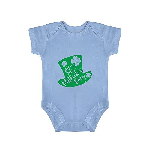DKISEE Saint Patricks Day Cap Blue Baby Onesies Body Infantil Mameluco 6-9 meses, otyx277fm36s