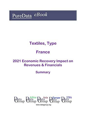 Textiles, Type France Summary: 2021 Economic Recovery Impact on Revenues & Financials (English Edition)