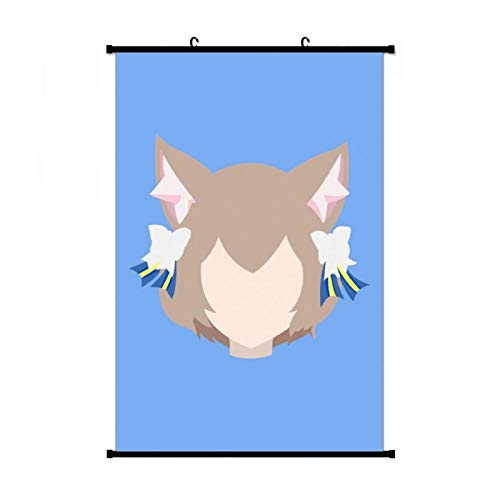 Felix Argyle (Re Zero Kara Hajimeru Isekai Seikatsu) Anime Living Room Bedroom Home Decoration Gift Fabric Wall Scroll Poster (16x24) Inches
