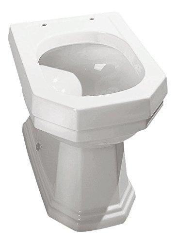 Sanitop-Wingenroth 56694 0 Kombi Athenas Tiefspüler, WC Kombination ohne Spülkasten