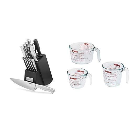 Cuisinart C77SS-15PK 15-Piece Stainless Steel Hollow Handle Block Set &...