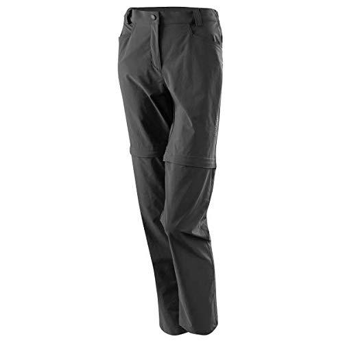 LÖFFLER DA. Trekking Basic CSL Pantalon de randonnée à Fermeture Éclair Graphite, Gris, 36 EU