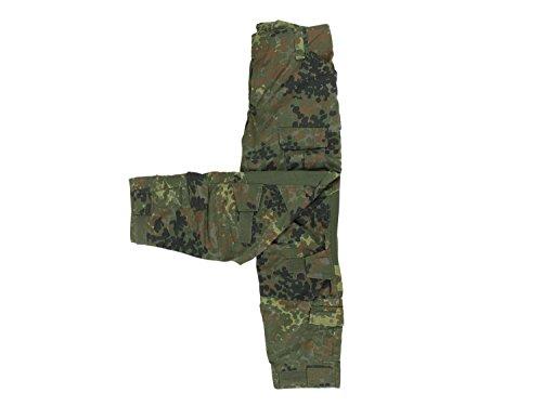 Invader Gear Predator Combat Hose, mit 10 Taschen & Knieschonern - Flecktarn, Größe:L