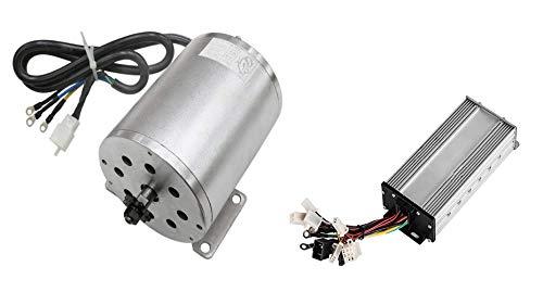 sarach store 1500W 48V DC Gear bürstenloser Motor und Controller Elektroroller-Motoren passend auf EVO