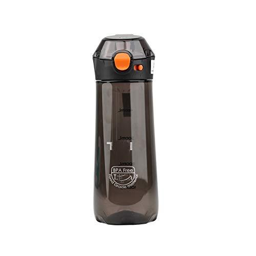 GONGYBZ Taza de Agua al Aire Libre de 350 ml / 500 ml Taza práctica portátil de Color sólido para Hombres y Mujeres Adultos Taza de plástico para Deportes