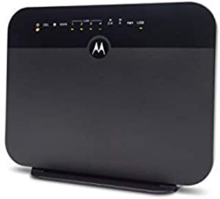 MOTOROLA VDSL2/ADSL2+ Modem + WiFi AC1600 Gigabit Router, Model MD1600, for Non-Bonded, Non-Vectoring DSL from CenturyLink, Frontier, and Some Other DSL Providers