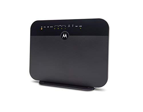 MOTOROLA VDSL2/ADSL2+ Modem + WiFi AC1600 Gigabit Router, Model MD1600, for Non-Bonded, Non-Vectoring DSL from Frontier and Some Other DSL Providers