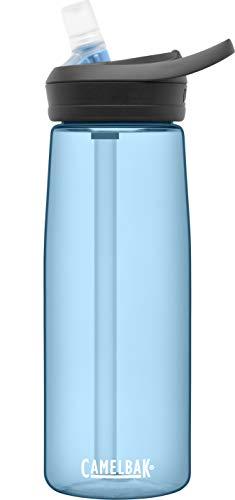 CamelBak eddy+ garrafa de água com renovação Tritan – topo de canudo 740 g, azul real