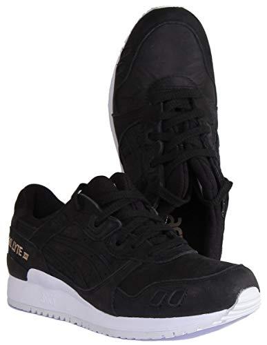 ASICS Damen Gel-Lyte III Sneaker, Schwarz, 36 EU