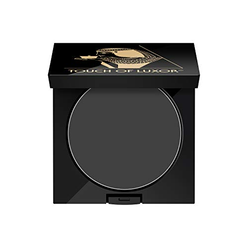 Cutifem Touch of Luxor Augenbrauenpuder & Lidstrichpuder No. 3 Soft Black - Intensives Schwarz - 2,8 g