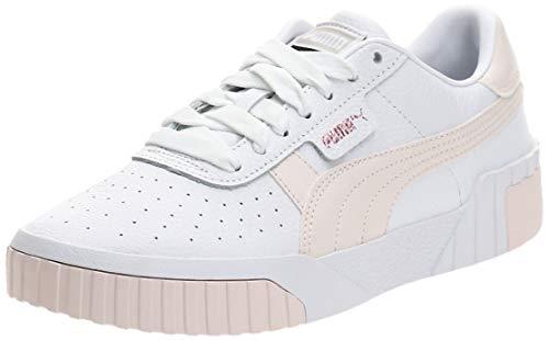 PUMA Damen Cali WN's Sneaker, White Rosewater, 39 EU