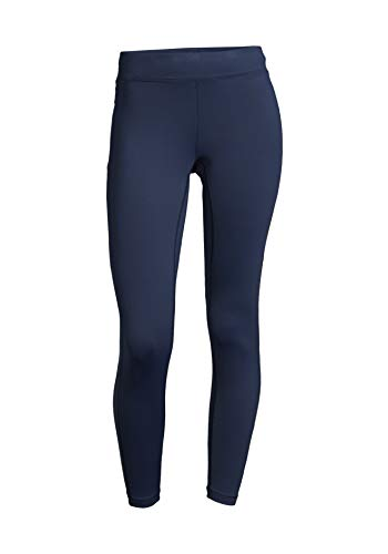 Casall Damen Sporthose Energy 7/8 Leggings Elastizität Und Stabilität Pushing Blau 44