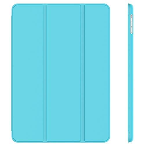 JETech Funda para iPad Air, Carcasa con Soporte Función, Auto-Sueño/Estela, Azul