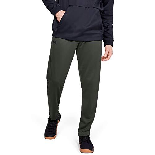 Under Armour Herren Armour Fleece Pants, Herren, Men's Armour Fleece Pants, Barock Grün (310)/Schwarz, Medium