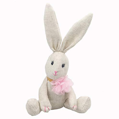 qwerqz Coniglio di Peluche Ripiene Doll Girls Favorite Easter Bunny 25m Peluche di Peluche Regali di Coniglietti Pasquali Peluche 25CM Maschio