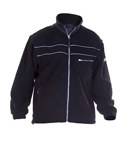 Hydrowear 04026025F Kiel Klassische Fleece-Jacke Schwarz Größe S