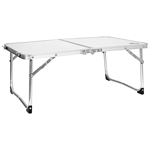 Charles Bentley Odyssey Folding Lightweight Camping Low Picnic Table Garden...