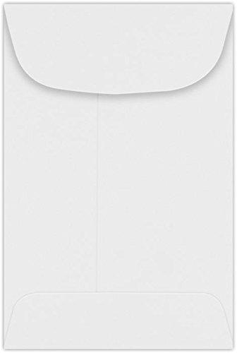 #4 Coin Envelopes (3 x 4 1/2) – 24lb. Bright White (250 Qty.)