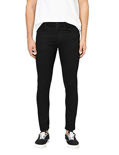 Koton Herren Skinny Jeans, Schwarz, 3530