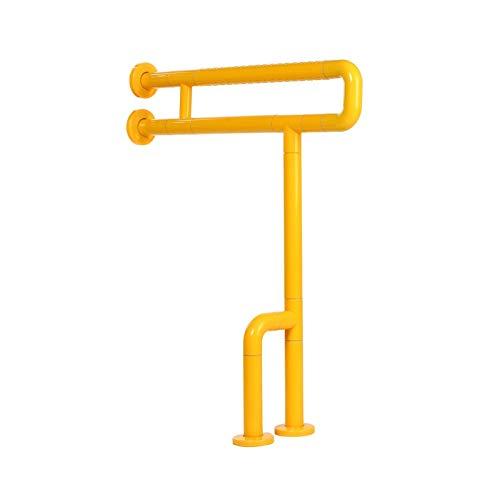 Badezimmer Handlauf Toiletten Dusche Handicap Grab Bar Rail Safety Leistungsstarke Griffunterstützung für ältere Menschen schwanger (Color : Yellow)