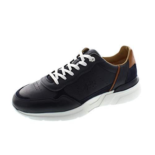 La Martina Herrenschuhe - Sneaker LFM201092 - blu, Schuhgröße:43