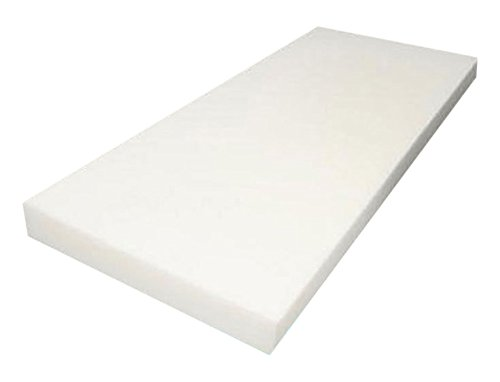 FoamTouch Upholstery Foam Cushion High Density, 3' H x 24' W x 72' L