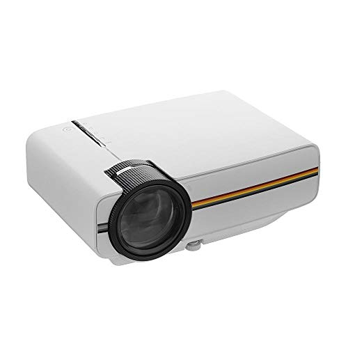 Videoproiettore Supporto per proiettore Home Cinem LCD Proiettore Portatile 1080p 1200 Lumen Risoluzione 800x480 Telecomando del Proiettore di Controllo Teatro di Home Entertainment