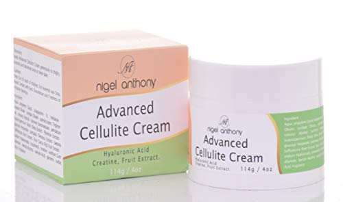 Nigel Anthony ADVANCED CELLULITE CREAM - Skin Care Treatment for Cellulite Defense Firming Toning w/Hyaluronic Acid + Creatine + Fruit Extract