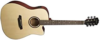 Carlo Robelli G600CE Dreadnought Acoustic-Electric Guitar Package