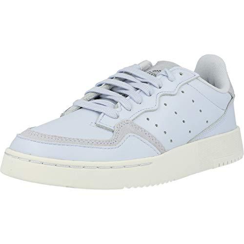 adidas Originals Supercourt J Azul/Blanco (Aero Blue/Crystal White) Cuero 37⅓ EU