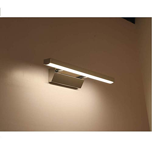 XIAJIA -7W 700LM Lámpara LED de pared, Lámpara de espejo